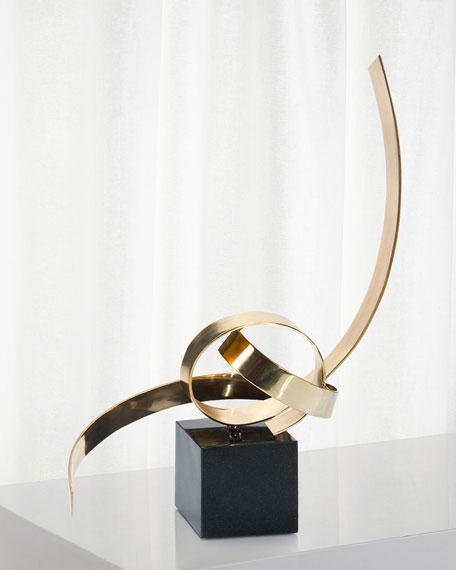 John-Richard Collection Petite Ribbon Sculpture