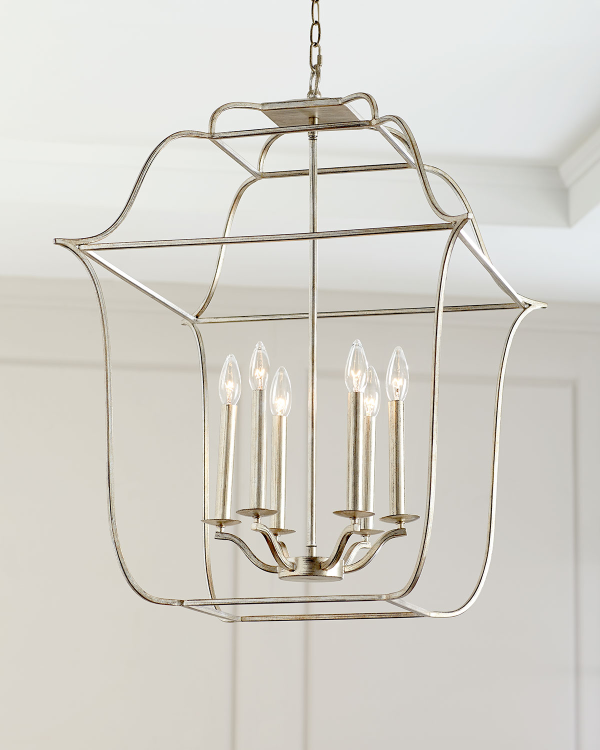 Cage 6 Light Chandelier