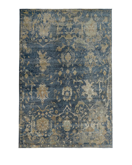 "Williamsburg Hand-Knotted Runner, 2'6"" x 10'"