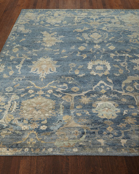 Williamsburg Hand-Knotted Rug, 4' x 6'