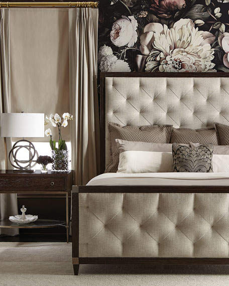 Clarendon Tufted Queen Bed