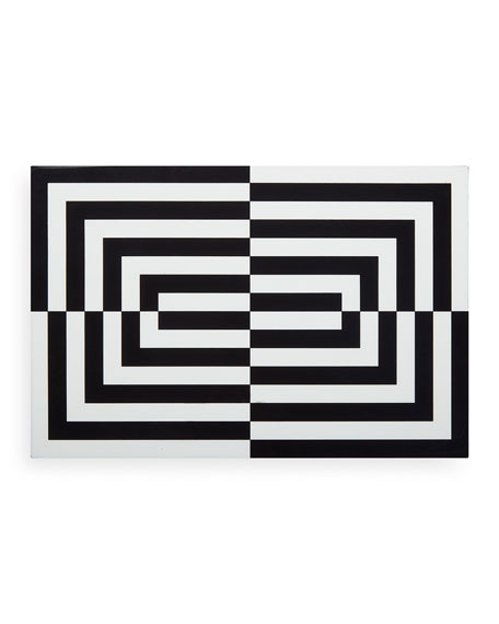 Op Art Large Stacking Box