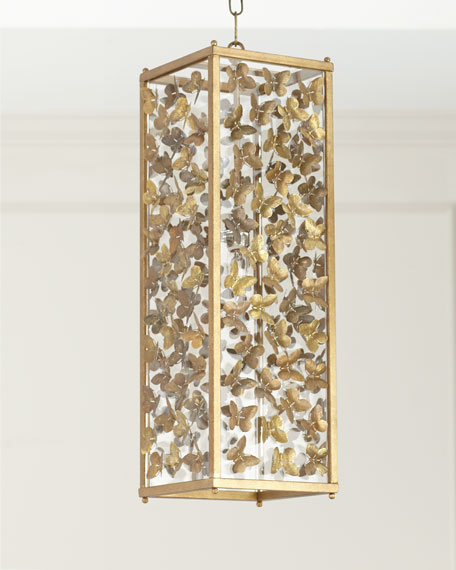 Large Butterfly Pendant Light