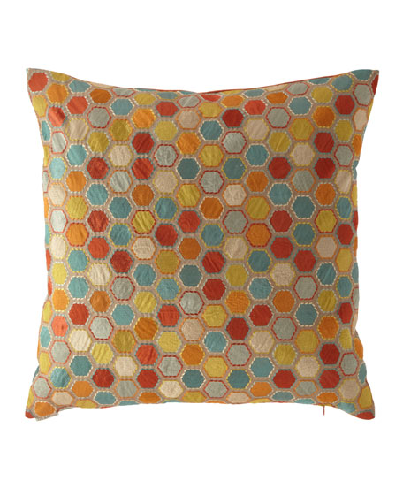 D.V. Kap Home Gem Market Henna Pillow