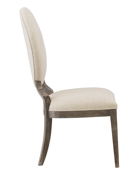 Clarendon Oval-Back Side Chair, Single