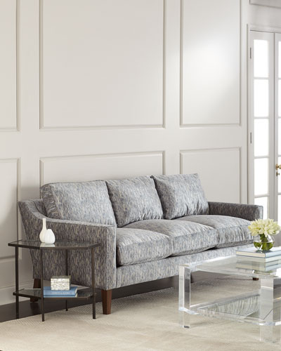 Isidor Low-Back Luxury Arm Sofa