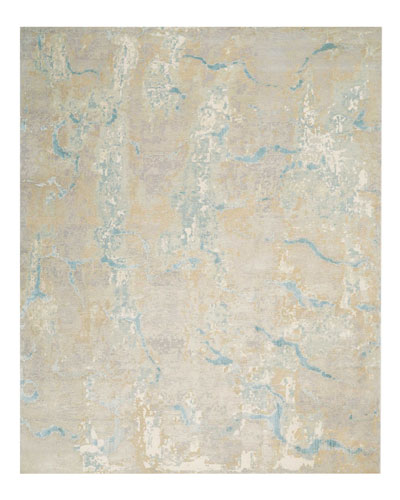 Tranquilite Hand-Knotted Rug, 9' x 10'