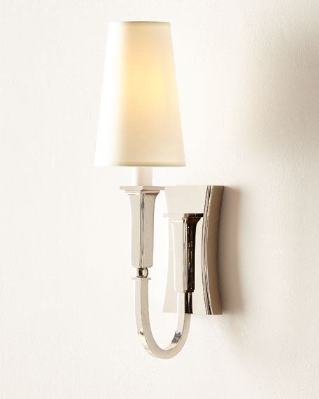 Delphia Small Single Sconce