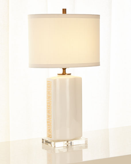 Palace Fret Table Lamp