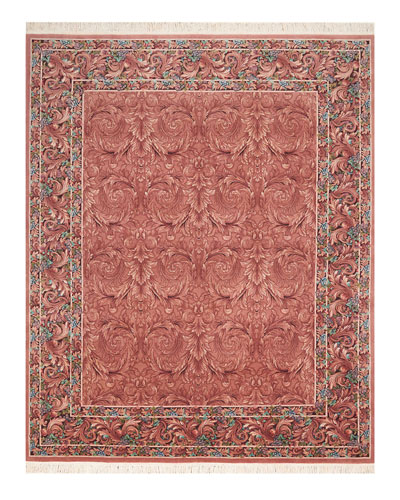 Rose Cloud One of a Kind Rug, 7.75' x 9.75'