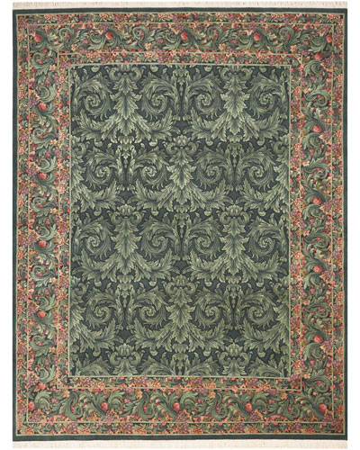 Emerald City One of a Kind Rug  7.75' x 9.75'