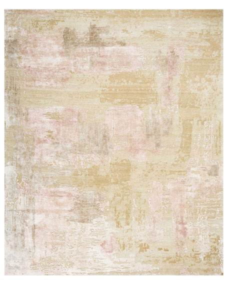 Christopher Guy Mirage Shale Hand-Knotted Rug, 9' x