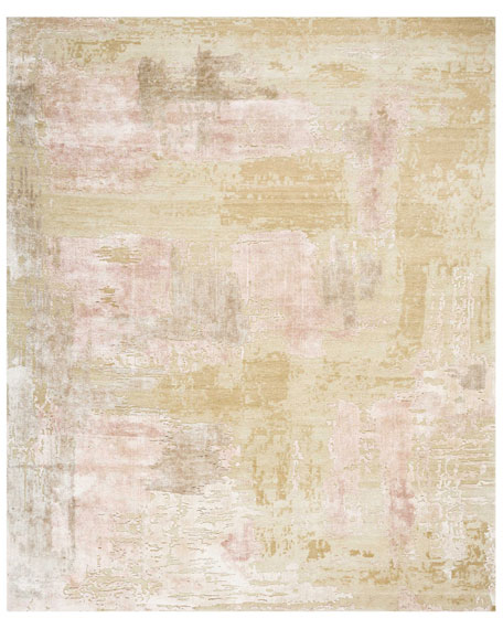 Christopher Guy Mirage Shale Hand-Knotted Rug, 10' x