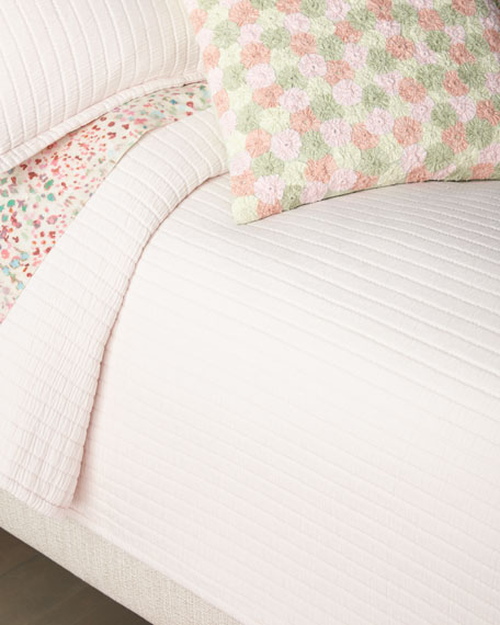 Boyfriend Slipper Matelasse Queen Coverlet