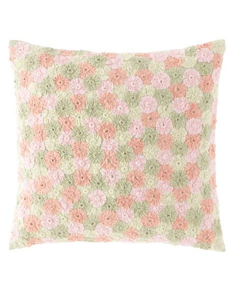 Pine Cone Hill Arielle Embroidered Decorative Pillow, 20