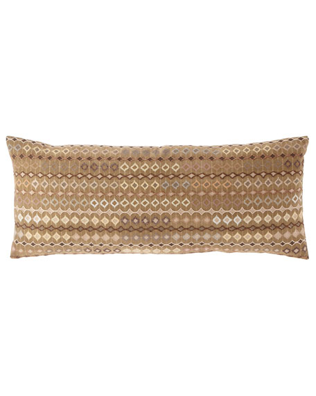 Ballia Embroidered Decorative Pillow