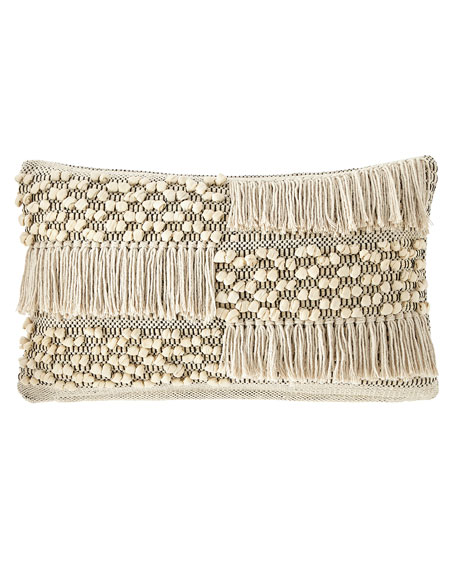 Pom Pom at Home Zahra Hand-Woven Pillow, 14