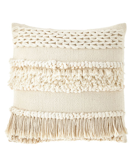 """Iman Pillow with Insert, 20""""Sq."""
