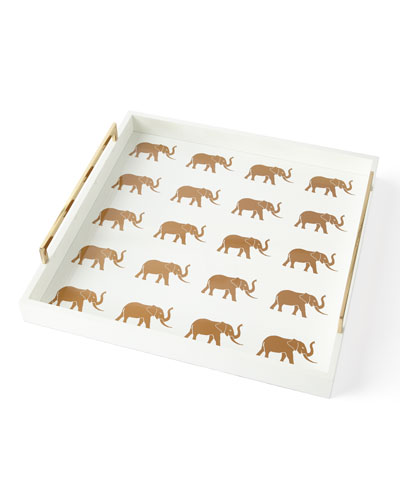 Meru Elephant Large Tray