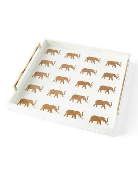 Meru Elephant Large Tray