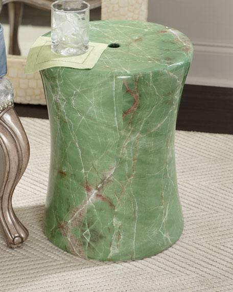 Jade Drum Stool