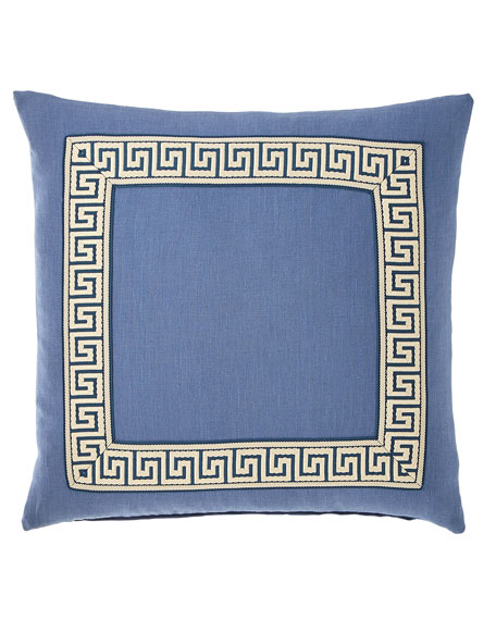 Breeze Pillow with Mitered Border