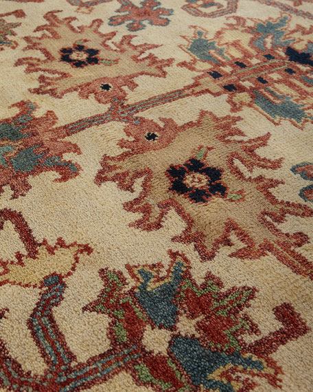 Reyhan Hand-Knotted Rug, 9' x 12'