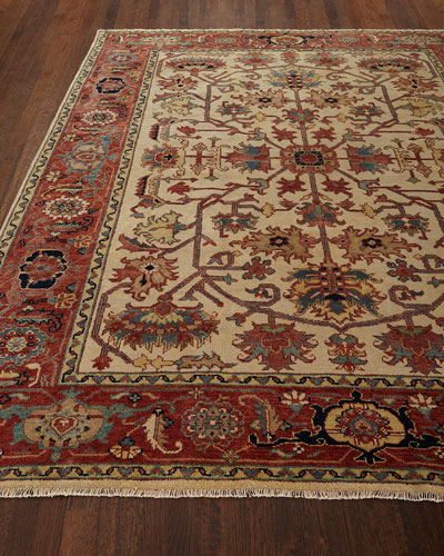 Reyhan Hand-Knotted Rug  10' x 14'
