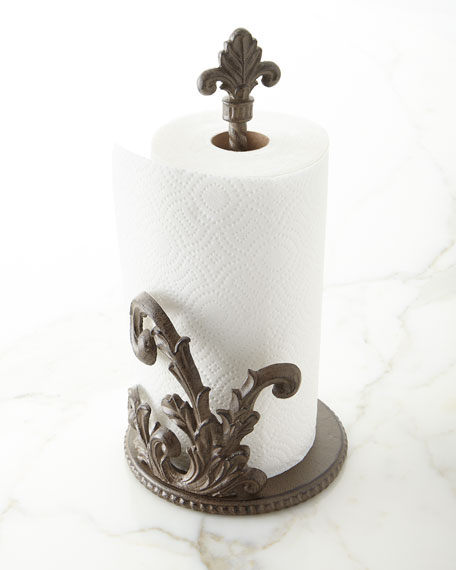 Acanthus Jumbo Paper Towel Holder
