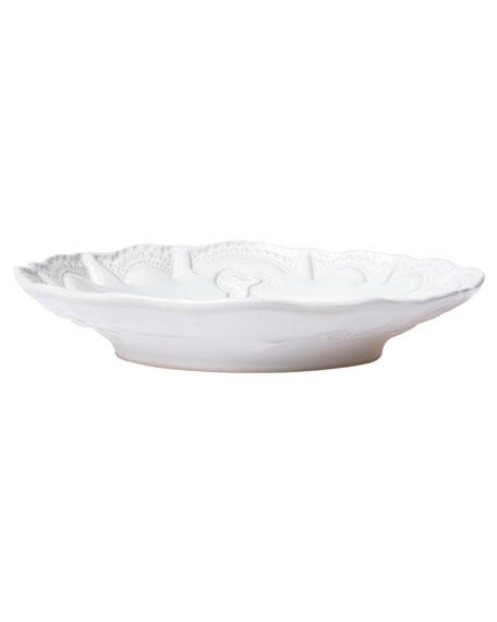 Incanto Stone Lace Pasta Bowl, White