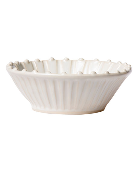 Incanto Stone Stripe Cereal Bowl, Linen