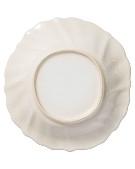 Incanto Stone Ruffle Pasta Bowl, Linen