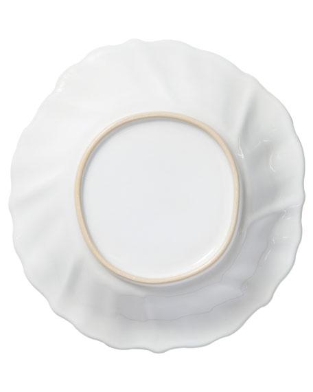 Incanto Stone Ruffle Pasta Bowl, White