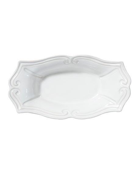 Incanto Stone Baroque Medium Au Gratin, White