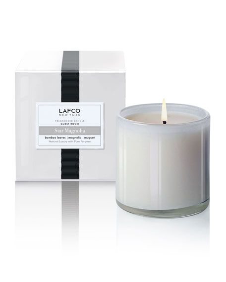 Lafco Star Magnolia Signature Candle – Guest Room,