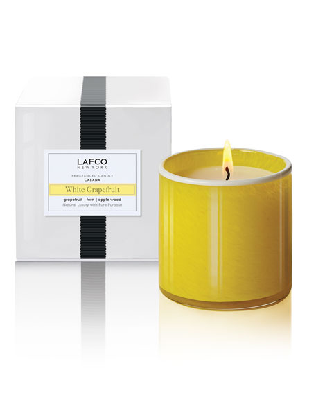 Lafco White Grapefruit Signature Candle – Cabana, 15.5