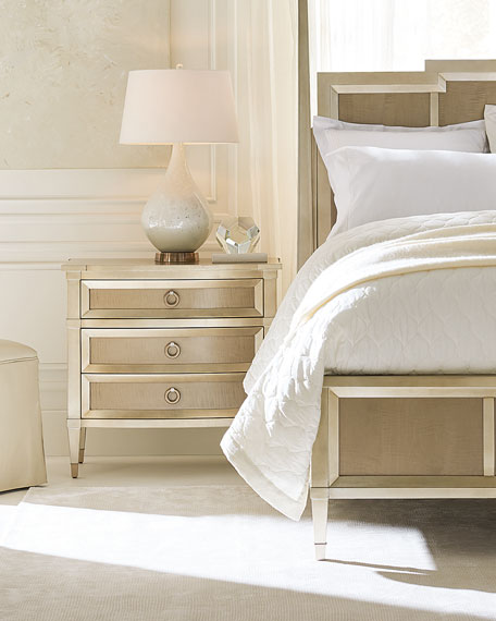 Jasmine 3-Drawer Night Stand