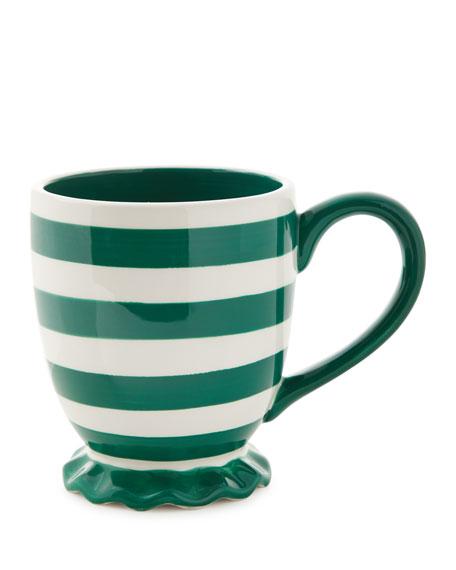 Spot On Ruffle Mugs, Set of 4