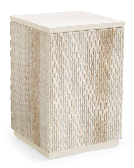 Sinda Marble-Top Side Table