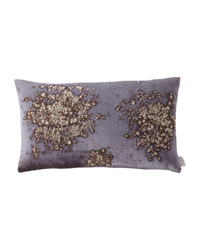 Mineral on Midnight Moon Pillow  12 x 20