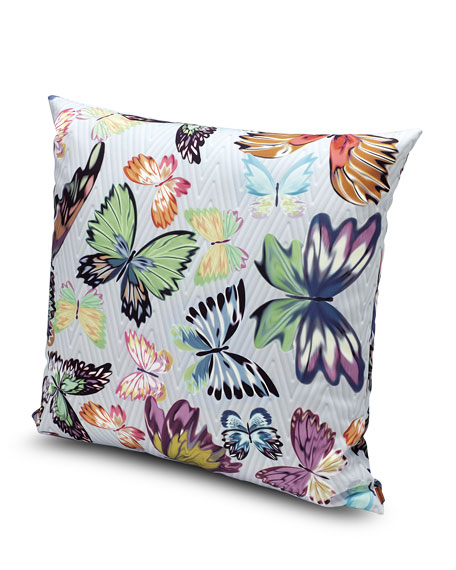 "Villahermosa Pillow, 24""Sq."