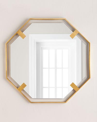 Octagon Mirror, Gold