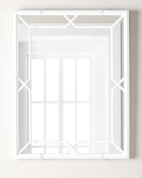 Tayler Bamboo Wall Mirror