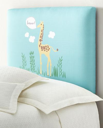 Giraffe Full Headboard  Personalized