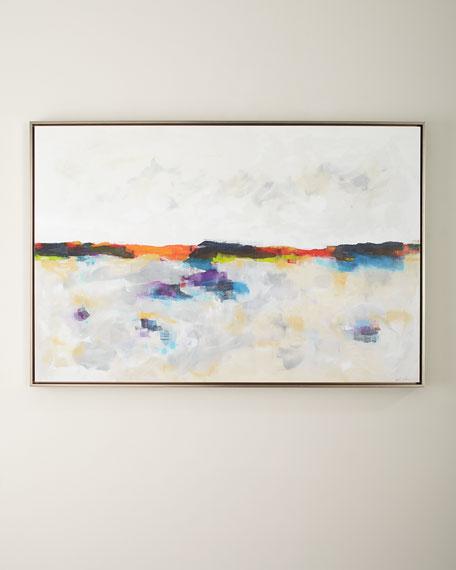"Sunlight Lake, 60"" x 40"""