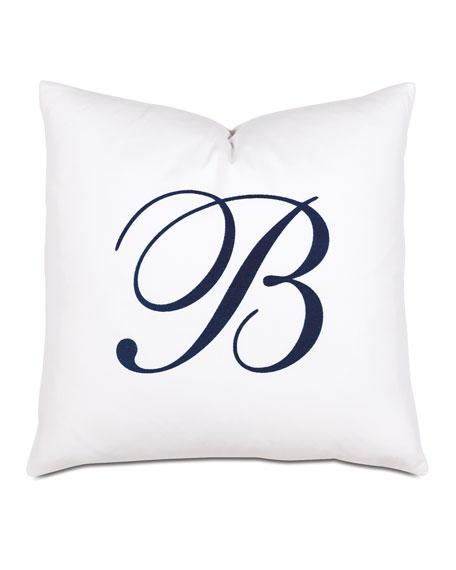 Summerhouse Decorative Monogram Pillow