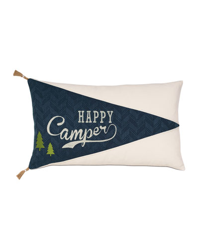 Scout Happy Camper Decorative Pillow
