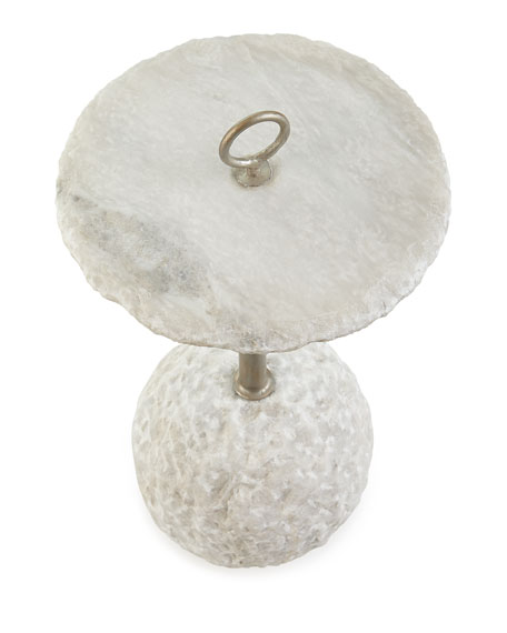 Taya Alabaster Side Table