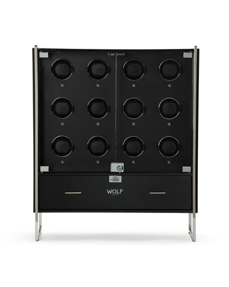 1834 Regent 12-Piece Cabinet Watch Winder