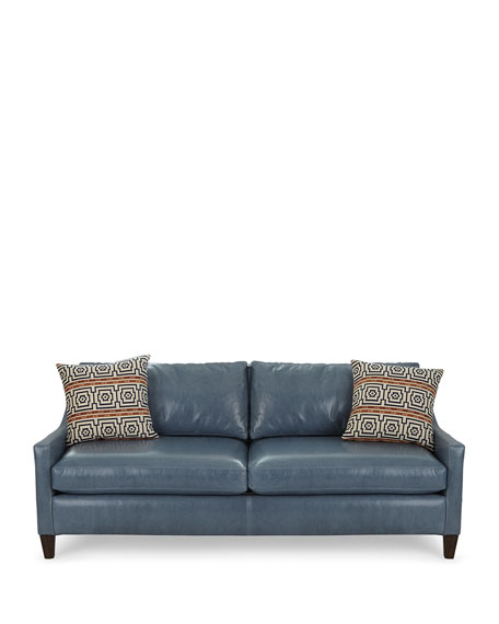 Jaylin Leather Sofa 84""